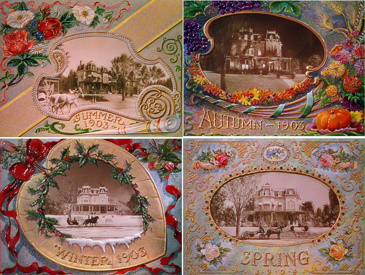 Image from Meet Me in St. Louis: Summer 1903, Autumn 1903, Winter 1903, Spring 1904. Source: https://lecinemadreams.blogspot.com/2015/12/meet-me-in-st-louis-1944.html